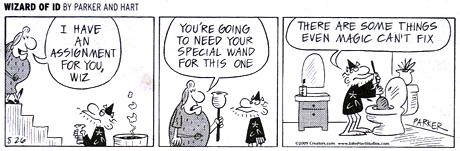 Wizard of Id Comic