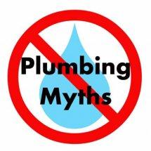Plumbing myths.