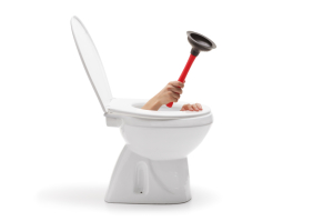 A toilet not fully flushing is a job for a professional plumber.